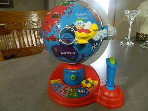 Vtech Fly & Learn Talking Globe Interactive Educational Discovery Learning Toy