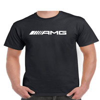 AMG Logo T Shirt Youth and Mens Sizes Gildan