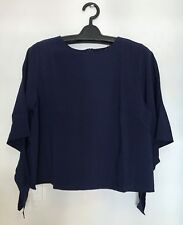 BANGKOK WOMEN'S BLOUSE - BLUE, SMALL TO MEDIUM