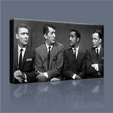 THE RATPACK AWESOME SINATRA & GANG ICONIC CANVAS ART PRINT PICTURE Art Williams