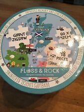 Floss & Rock United Kingdom Giant Jigsaw 48 Piece Uk Theme New