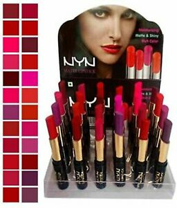 NYN Spanking Matte Waterproof Lipsticks, PACk Of 24