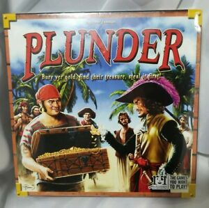 Plunder: The Board Game (RRG420) New Pirates 10+ [2-6 players]