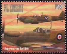 WWII RAF Supermarine SPITFIRE Aircraft Stamp #3 (1940-2000 Battle of Britain)