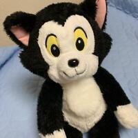 Tokyo Disneyland Limited TDL Figaro Plush Doll Black Cat Fluffy Pinocchio