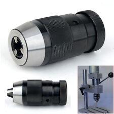 """B18 Keyless Lathe Drill Chuck Self Tighten Heavy Duty Taper 1-16mm 1/32""""- 5/8"""""""