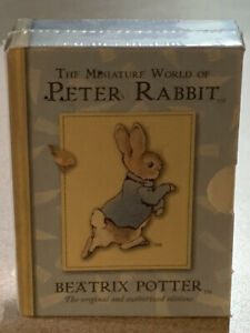 The Miniature World of Peter Rabbit Beatrix Potter 4 mini tales in box softcover