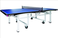 New listing Butterfly Centrefold 25 Table Tennis Table—Indoor Rollaway Ping Pong Table—5-Yea