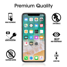 For iPhone X/Xs Real Tempered Glass Screen Protector (3 Pack)