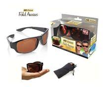 * como se ve en TV * Información importante sobre de alta definición HD Vision Pliegue Gafas De Sol * envío Gratis *