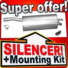 Rear Silencer FIAT DOBLO (119) 1.4 75/77 PS 10.2005-2009 Exhaust Box CDE