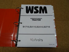 Kubota B1710, B2110, B2410, B2710 Tractor Service Shop Repair Manual