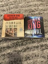 stephen king audiobook cd, Revival And 11/26/63 Complete,