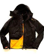 Ladies SUPERDRY THE WINDCHEATER Dark Brown Jacket/Coat Size XL 14/16 Exc Cond