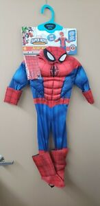 Toddlers Marvel Superhero Adventures Spider-Man My First One-Size Costume