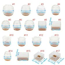 Floor Protector Furniture Feet Protector Silicone Pads Chair Leg Caps 10 Pack