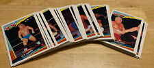 COMPLETE SET of 66 RARE WCW TOPPS WRESTLING TRADING CARDS 1992 wwe wwf aew ecw