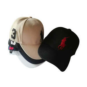 Fashion Embroidered Baseball Cap Strapback Sun Hat Sports Adjustable Unisex