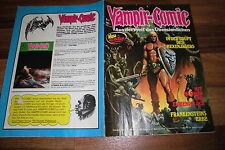 Vampiro-comic # 2/1974 -- anotados., entre otros,: Richard Corben + angelo torres + ken Barr