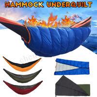 Hammock Underquilt Winter Under Quilt BlanketWarm Sleeping Camping Outdoor &
