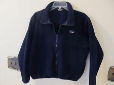 L.L. Bean Blue Full Zipper Fleece Jacket Vintage Womens Size Small