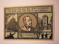 Eisenach - 1921 - Joseph Victor von Scheffel - Sammelschein - Notgeld ?