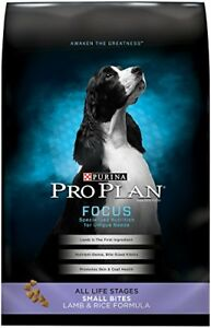 Purina Pro Plan Focus Focus All Life Stages Small Bites Lamb Rice Formula Dry