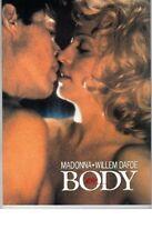 MADONNA Body JAPAN MOVIE PROGRAM BOOK 1993 Original Vintage Willem Dafoe HTF
