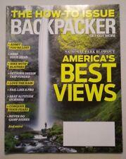 BACKPACKER MAGAZINE MAY 2016 AMERICA'S BEST VIEWS