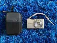 Sony Cyber-shot DSC-W830 20.1MP Digital Camera 8x Optical Zoom Silver *READ*