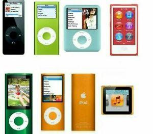 Apple iPod Nano 1st 2nd 3rd 4th 5th Generation 2GB 4GB 8GB 16GB WARRANTY