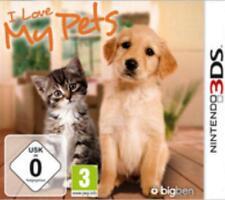 Nintendo 3ds I Love My Pets alemán OVP como nuevo