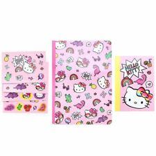 Hello Kitty Mini Notebooks Amp Stickers Set Dino Sanrio Japan