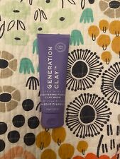 New Full Sized Generation Clay Ultra Violet Brightening Purple Clay Mask 3.97oz