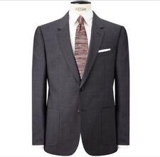 JOHN LEWIS Seymour Hopsack SB Wool Jacket/Blazer - Colour Grey Size 36R RRP £160