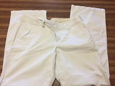 NWOT Old Navy Women's Low Rise Khaki Pants Size 14 Slightly Distressed