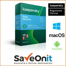 Kaspersky Total Security 2020 3 Device 2 Year Email license Window iOS Android