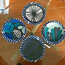 Marimekko Melamine Dinner & Salad Plates/Dishes - Set of 8