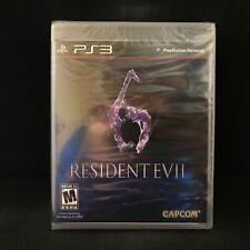 Resident Evil 6 (PlayStation 3) black label