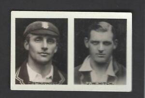 YOUNG BRITAIN - FAVOURITE CRICKETERS SERIES - #17/18 STRUDWICK/HITCH