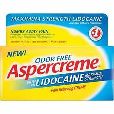 Aspercreme With Lidocaine Cream 2.7oz