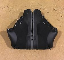 DVS Westridge Size 5.5 Black Nubuck BMX DC MOTO Snow Series Boots $95