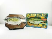 Vintage Big Mouth Billy Bass 1999 Gemmy The Singing Sensation Fish New in Box
