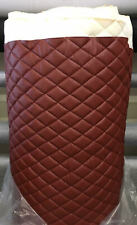 Tricotta Quilted Upholstery Vinyl Fabric with 3/8