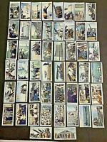 1939 Will's Cigarette Cards 'LIFE IN THE ROYAL NAVY' 50 Cards Full Set