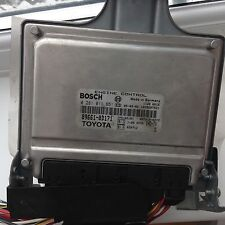 TOYOTA YARIS 1.4 D4D MOTORE ECU BOSCH 89661-0D171 0281011651 1ND-TV