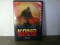 KONG: SKULL ISLAND w/Tom Hiddleston, Samuel L. Jackson (DVD)