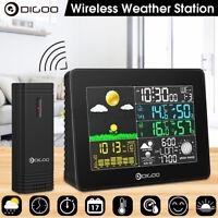 Digoo Wireless Color Digital Weather Station Hygrometer Forecast Sensor