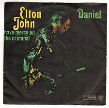 disco 45 GIRI Elton JOHN DANIEL - HAVE MERCY ON THE CRIMINAL