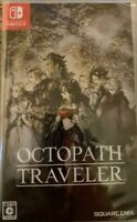 NEW Octopus Traveler HAC-P-AGY7A SQUARE ENIX Nintendo Switch Japan F/S